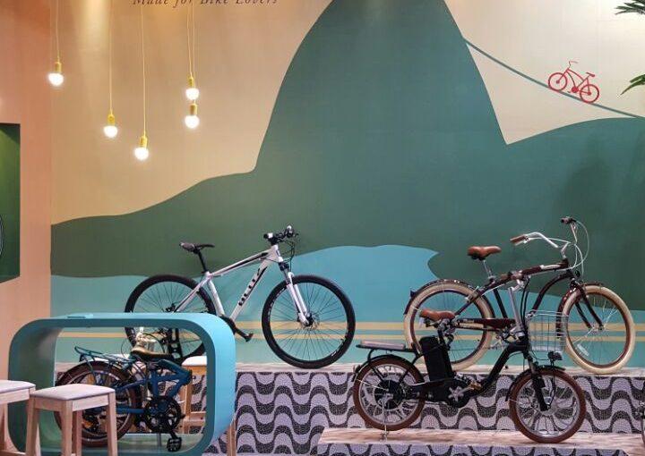 A Blitz na China International Bicycle Fair!